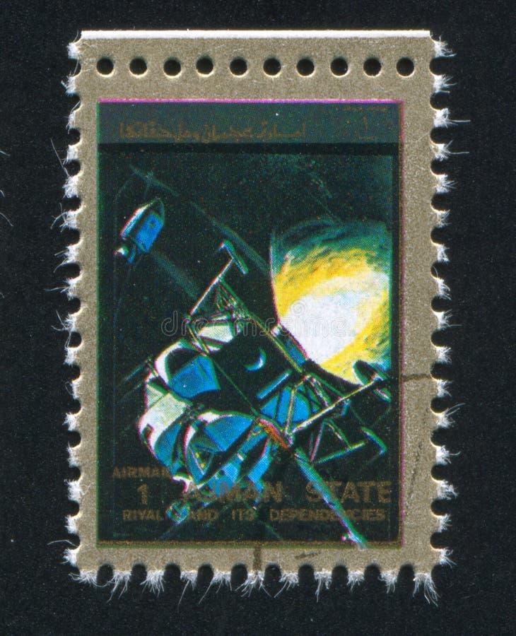 spaceship foto de archivo