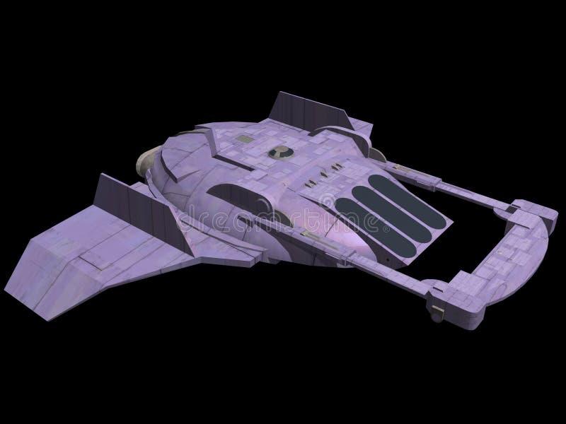 spaceship απεικόνιση αποθεμάτων