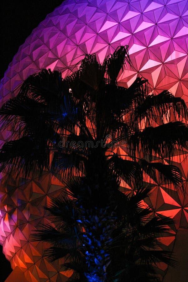 Spaceship Earth at Epcot Center, Orlando Florida. Spaceship Earth at Epcot Center, Orlando, Florida stock photography
