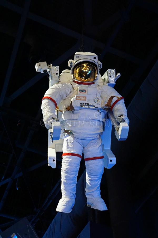 Spacesuit getragen von den Astronauten stockfoto
