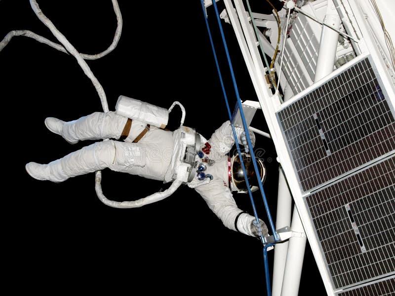 spacewalk 05 arkivbild