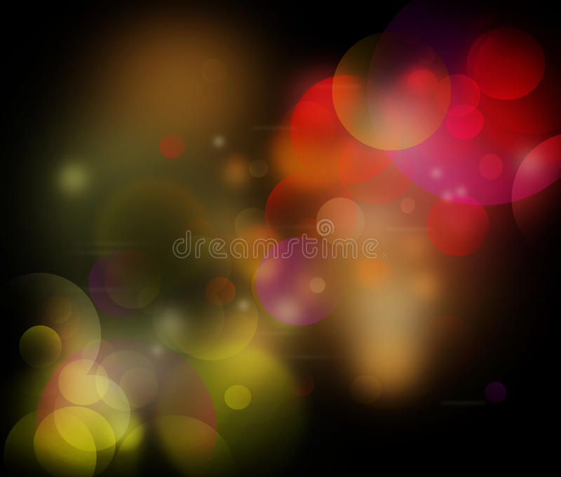 Download Spacey Circles stock illustration. Illustration of abstract - 23288182