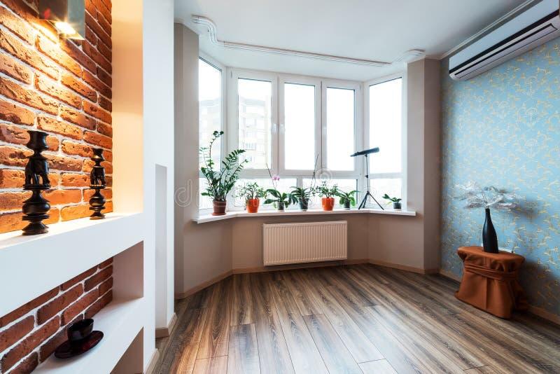 Spacious apartment stock photo