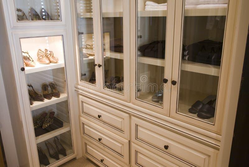 Spacious dressing room. royalty free stock photos