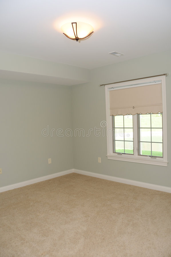 Download Spacious Empty Room stock image. Image of lighting, apartment - 5584247