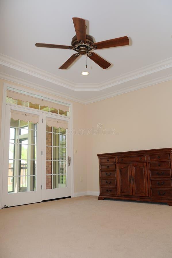 Spacious Empty Room stock photo