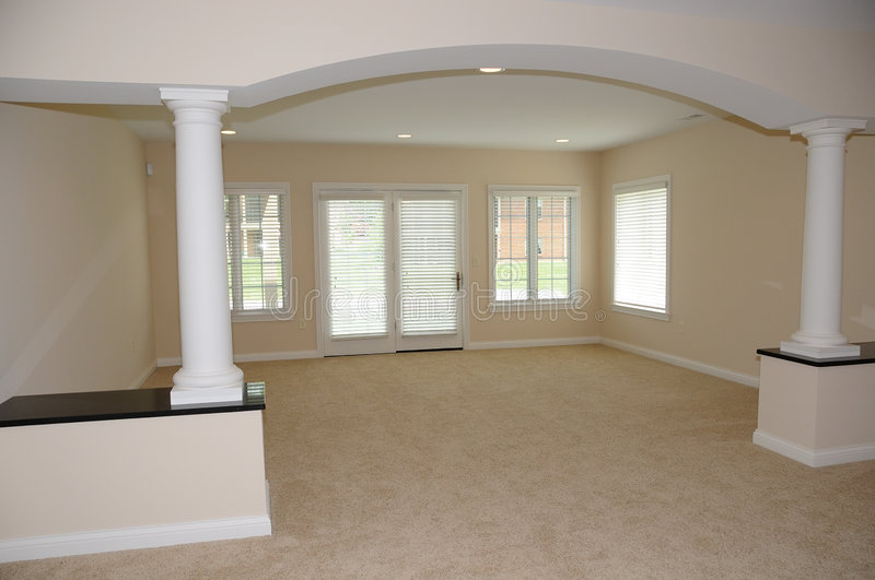 Download Spacious Empty Room In New House Stock Photo - Image: 5584244