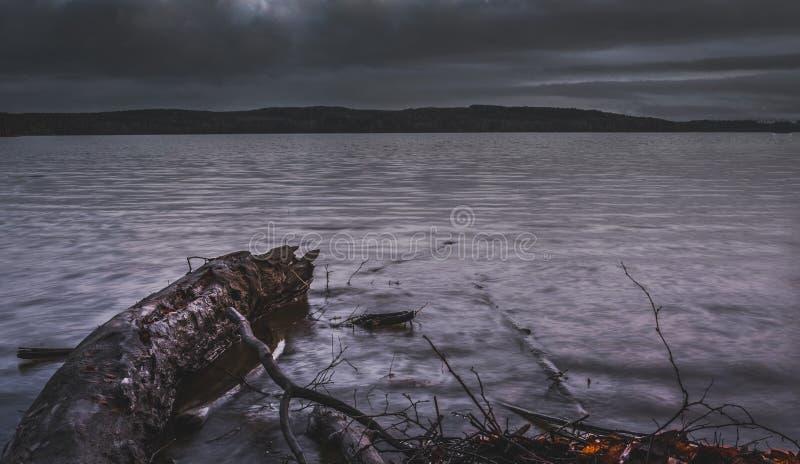Spadać nazwa użytkownika nadjeziorny widoku krajobraz obrazy royalty free