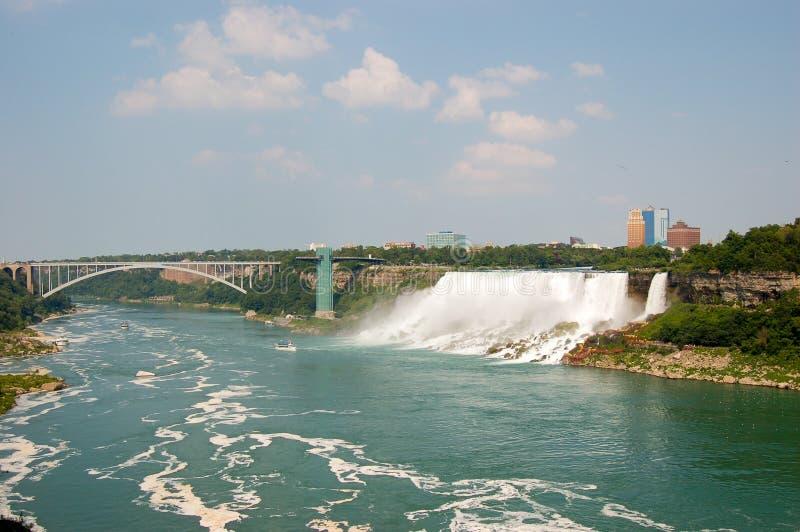 spadać Niagara zdjęcie stock