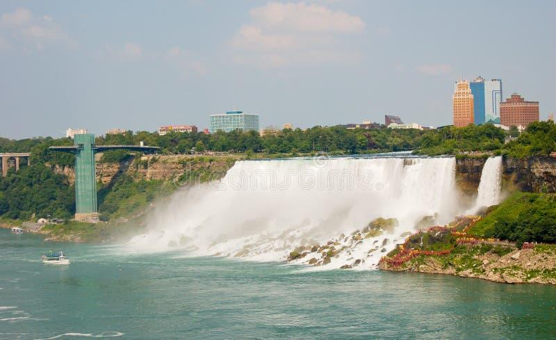 spadać Niagara zdjęcia stock