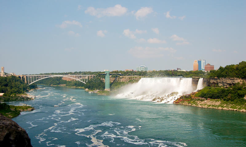 spadać Niagara obrazy royalty free