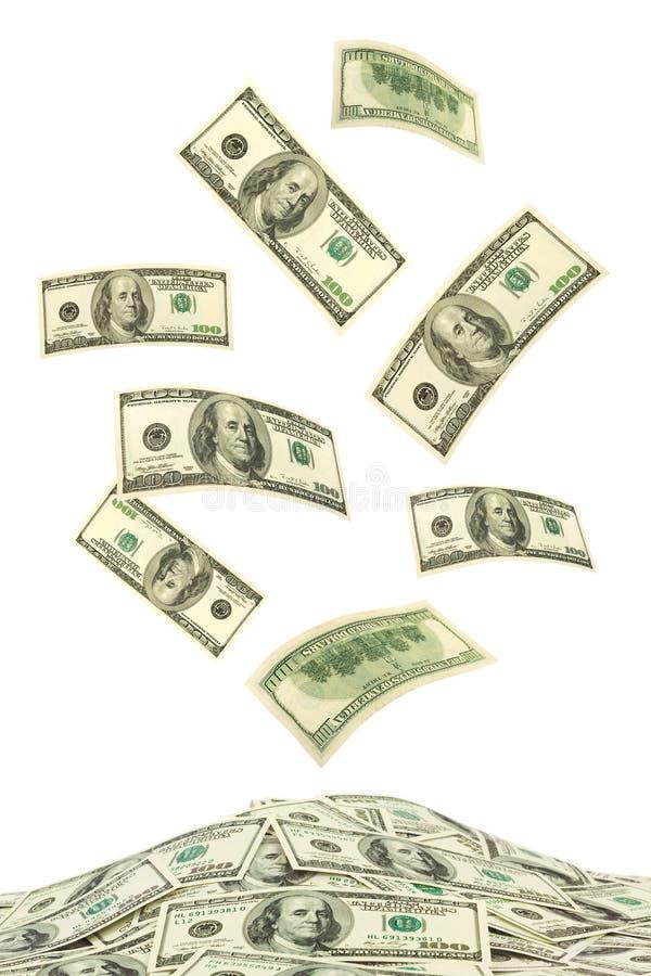 spadać pieniądze obrazy royalty free