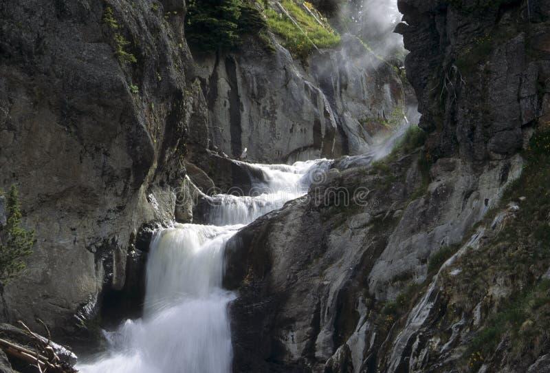 spadać tajemniczy krajowy Yellowstone obrazy royalty free