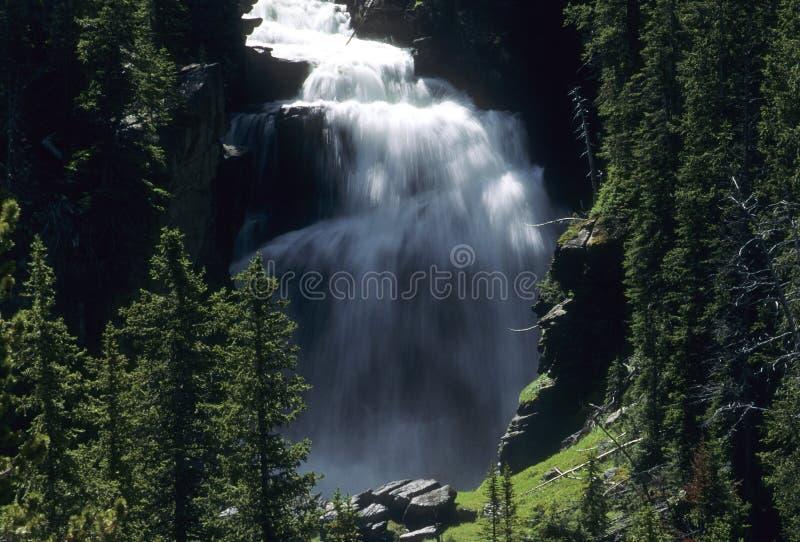 spadać tajemniczy krajowy Yellowstone zdjęcia royalty free