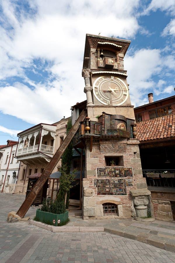 Spadać Tbilisi wierza. zdjęcie stock