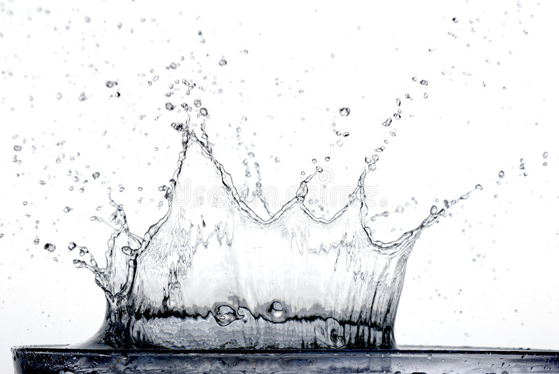 spadać wody obraz royalty free