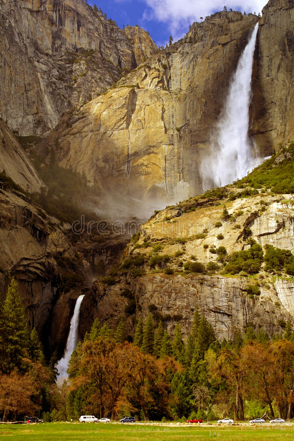 spadać Yosemite zdjęcie stock