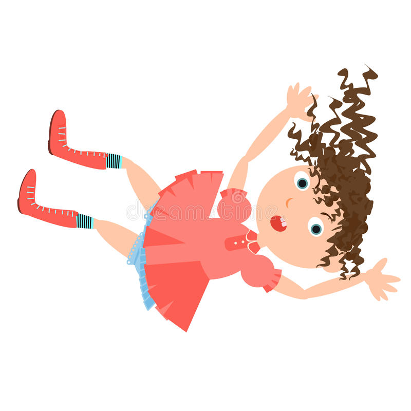 Spada dziewczyna królika dziura royalty ilustracja