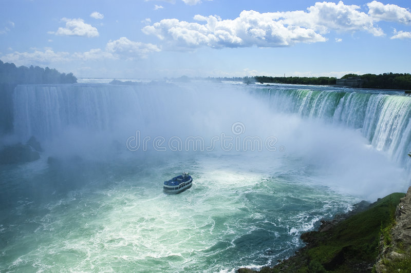 spada Niagara zdjęcia royalty free