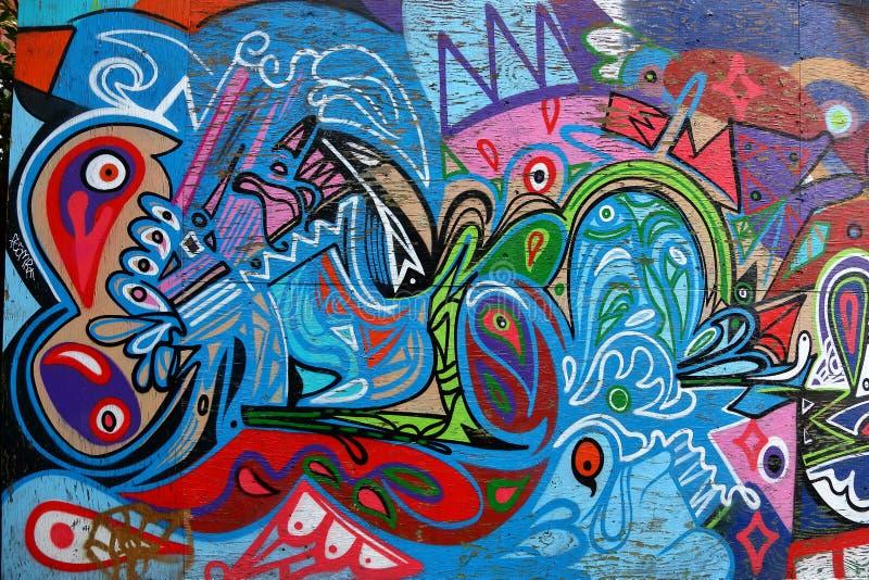 Spadaina 2016 de Toronto da pintura de parede fotos de stock royalty free