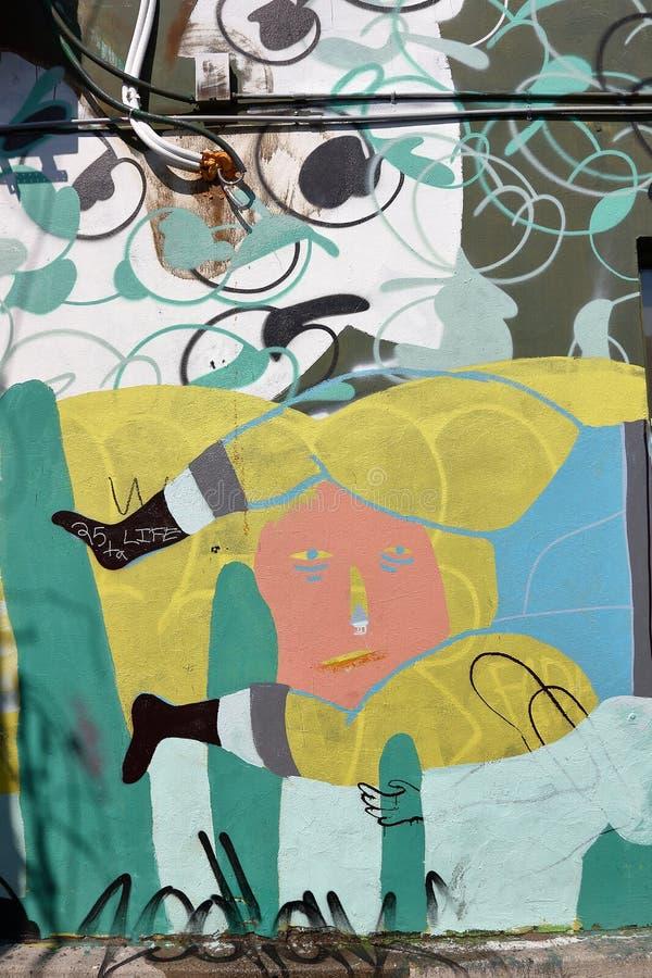 Spadaina 2016 de Toronto da pintura de parede fotos de stock