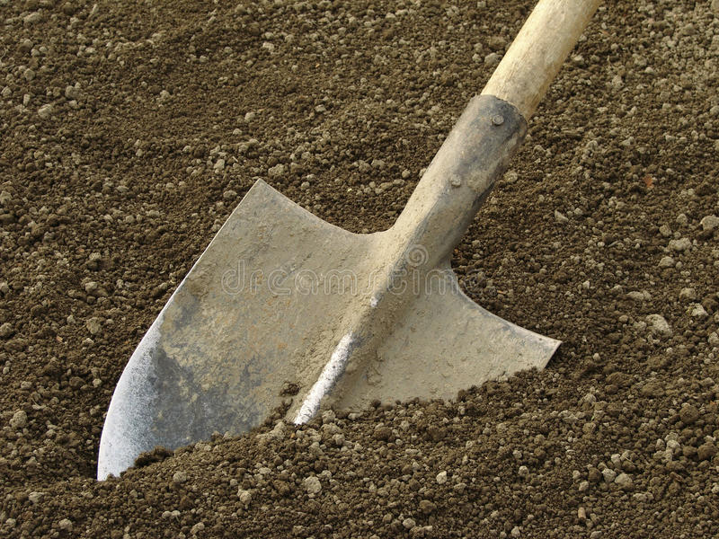 Download Spade stock photo. Image of shovel, ploughing, land, farm - 19058774