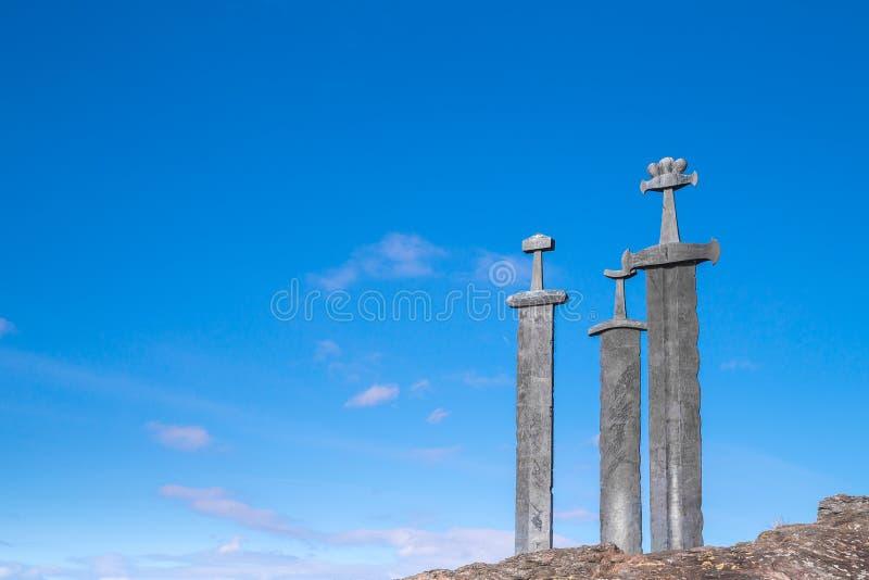 Spade di Viking fotografia stock