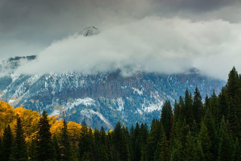 Spadek atmosfera W Zachodnich łosiach zdjęcie royalty free