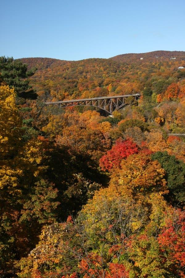 spadek Hudson doliny dukt zdjęcia royalty free
