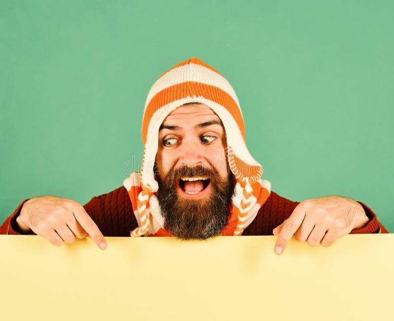 Spadek moda i jesieni stylowy pojęcie brody ludzi obrazy stock