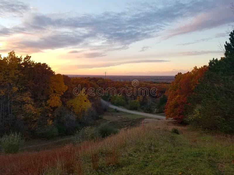 Spadek w Michigan fotografia stock