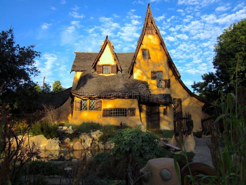 Spadena hus, häxans hus royaltyfri bild
