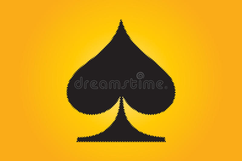 Download Spades stock vector. Image of illustration, abstract - 11151094