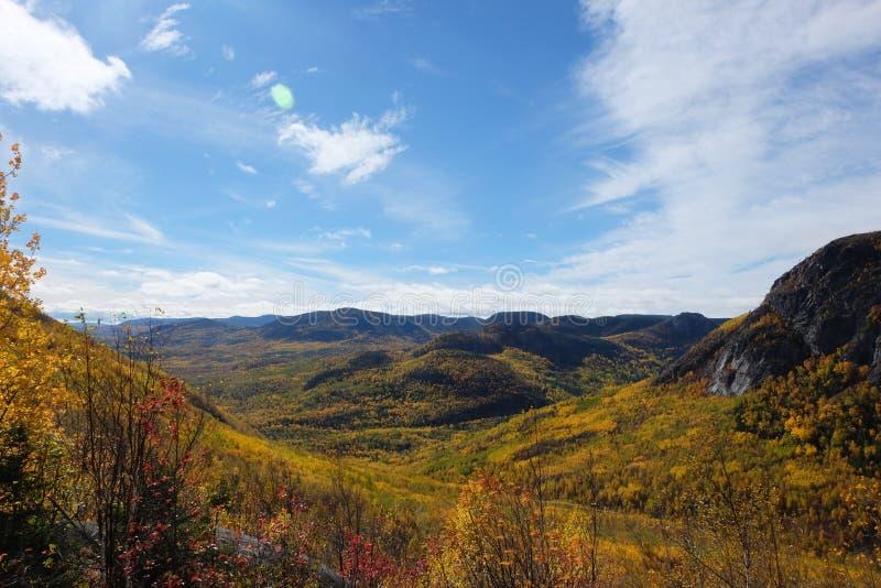 Spadków krajobrazy, Kanada obrazy royalty free