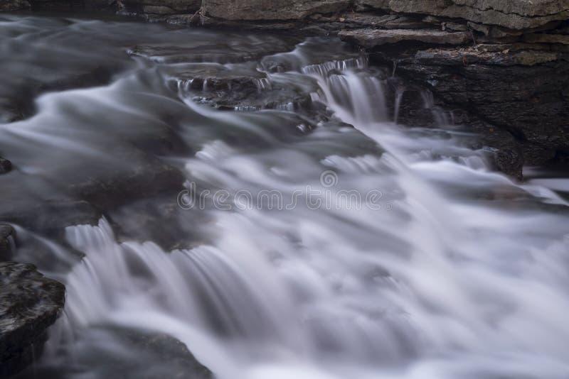 Spadki lokalizować w środkowym Ohio fotografia stock