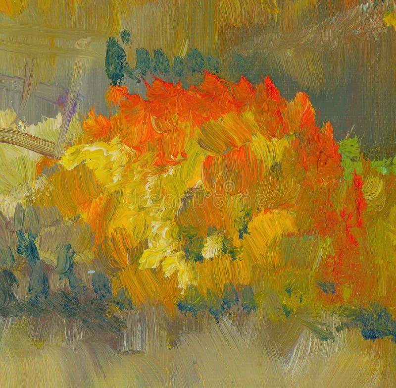 Spadku koloru uderzenia farby tekstura ilustracji