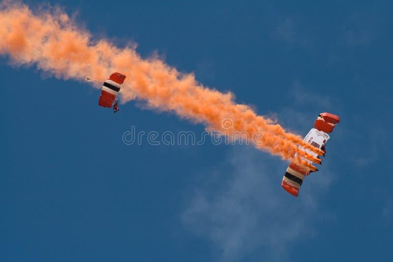spadochron zdjęcia stock