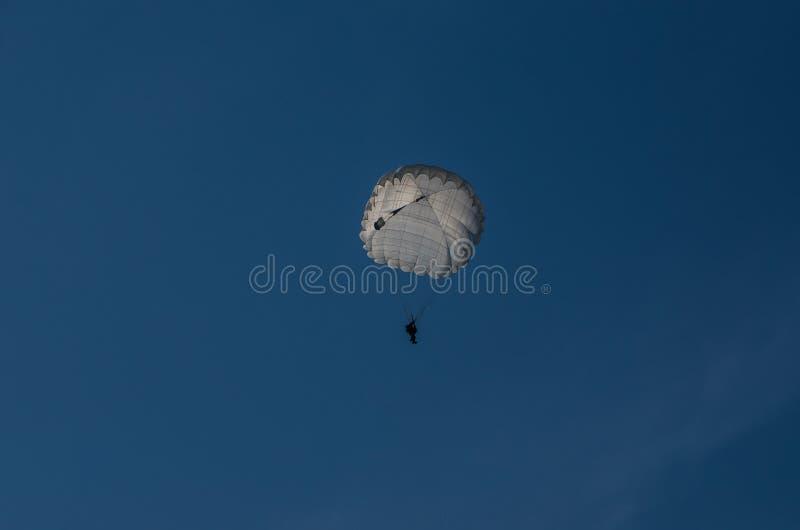 spadochroniarz obraz stock