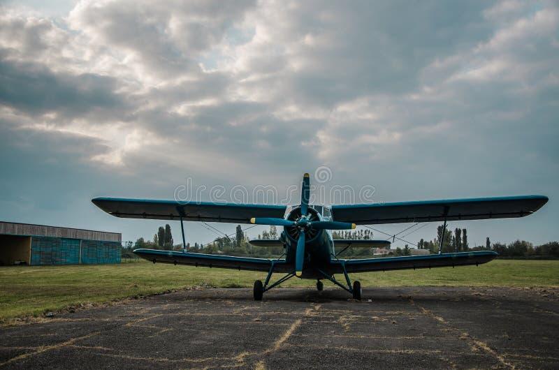 Spadochroniarza ` s samolot obrazy royalty free