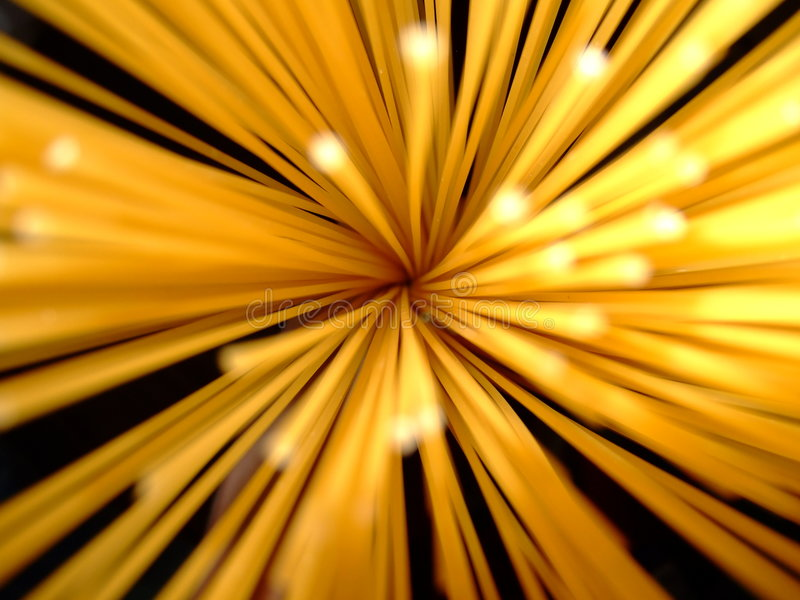 Spagetti lights. Abstract of a handful of spagetti stock photography
