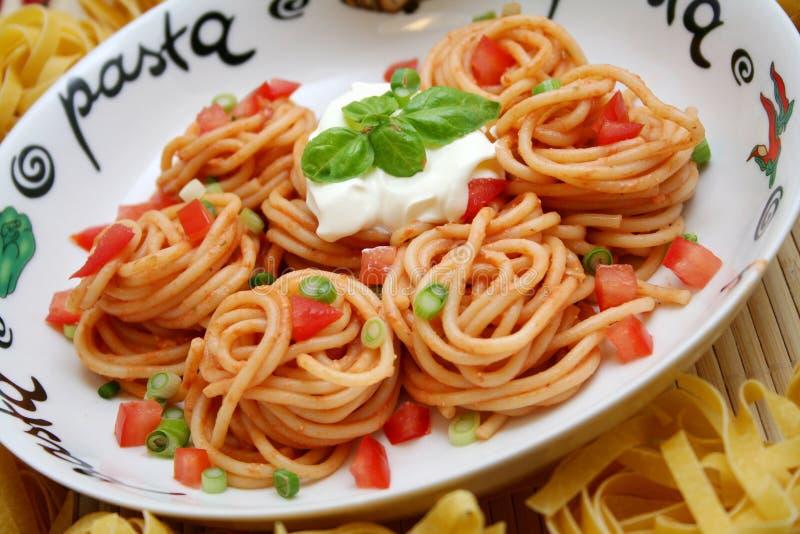 Spagettis 库存图片