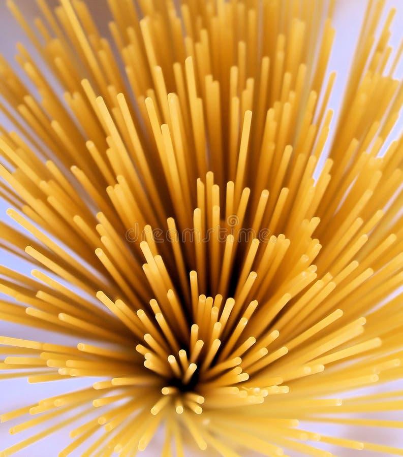 spagettispraysunray royaltyfria bilder