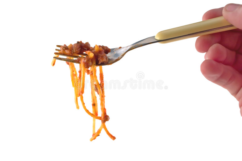 Download Spaghetti stock image. Image of yellow, image, food, hand - 1701543