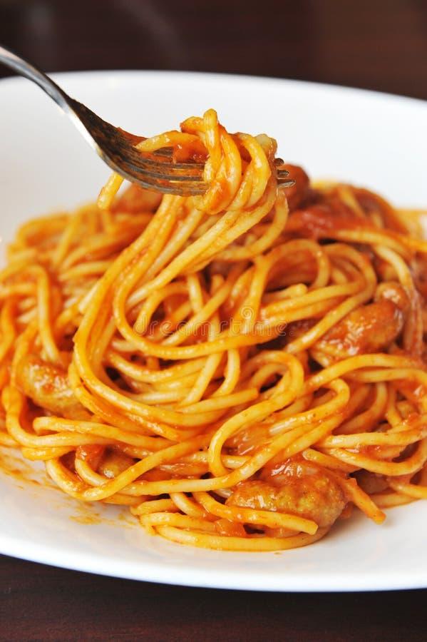 Spaghetti immagine stock