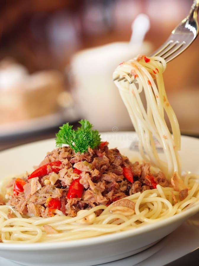 Spaghetti fotografia stock
