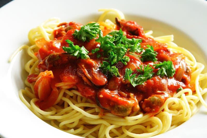 spaghetti zdjęcie stock