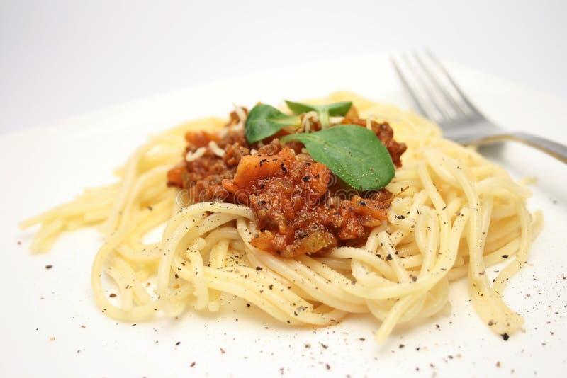 Spaghetti1 foto de archivo