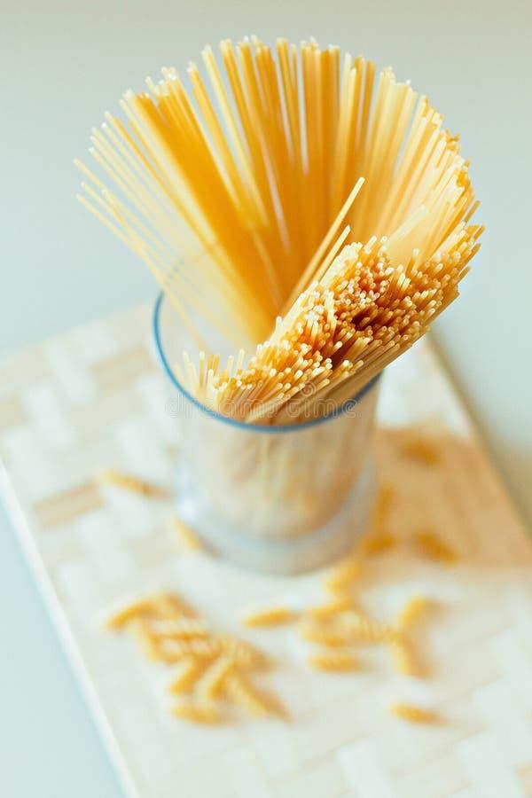 spaghetti stock foto's