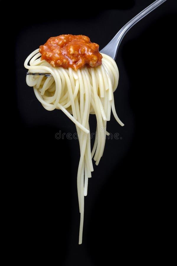Spaghetti Alla Bolonais images stock