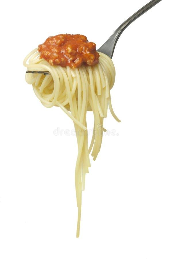 Spaghetti Alla Bolonais photos libres de droits